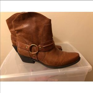 Brand New Franco Sarto booties in Brown